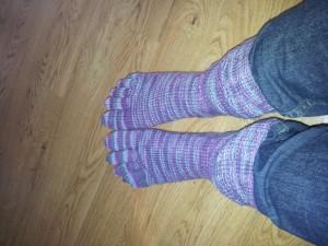 Tå sokker